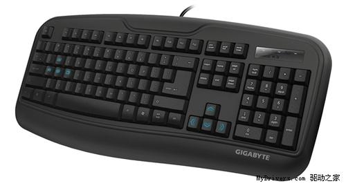 技嘉推出全新耐用Force K3电竞专用键盘