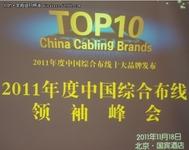 2011年度中国综合布线TOP10领袖峰会