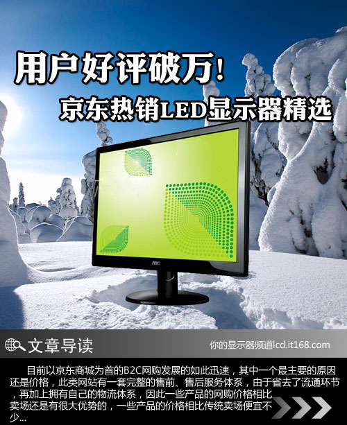 用户好评破万 京东热销LED显示器精选