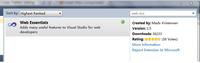 Visual Studio:Web Essentials详解