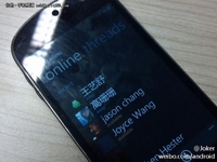 WP7系统的联想乐Phone 真机照片曝光
