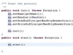 Tomcat处理HTTP请求:Connector源码