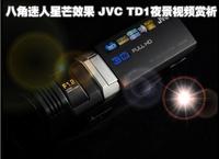 八角迷人星芒效果 JVC TD1夜拍视频赏析