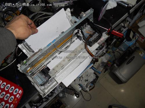 打印机搓纸轮图片1; 打印机进纸结构图;