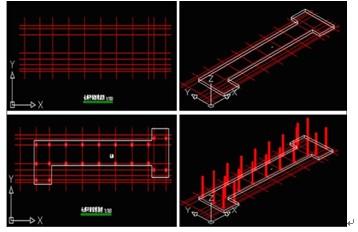 浩辰CAD教程建筑之长廊绘制图片