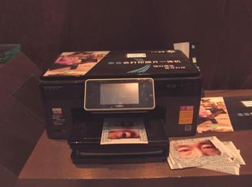 装置艺术融汇打印科技 HP云打印一体机