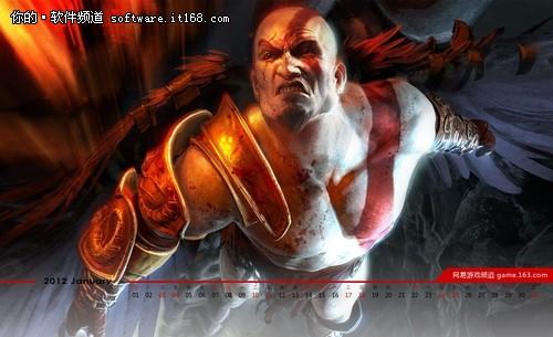 复仇之路终结版 《战神3》精美游戏壁纸