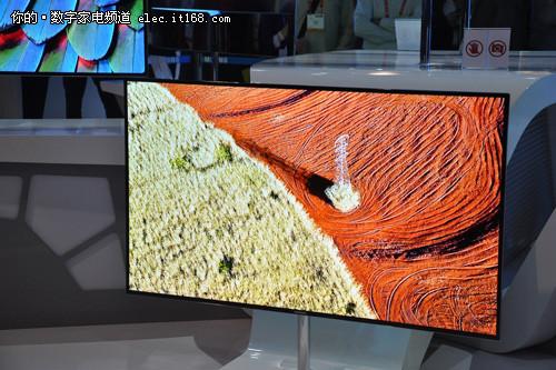三星新品电视亮相 OLED最惊艳