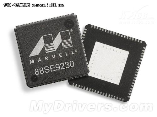 Marvell首发PCIe 2.0x2 SATA 6Gbps主控