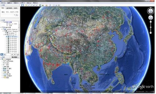 地图服务已经更新加入了大量航空