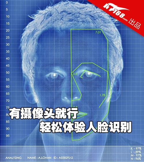 有摄像头就行 普通笔记本体验人脸识别