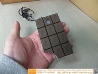 情人节礼物:咬了一口的巧克力鼠标