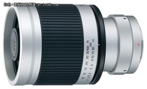 单反单电均适用 肯高发400/F8折返镜头