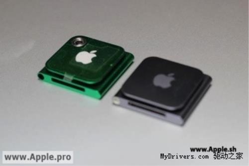 新一代iPod nano曝光:添加后置摄像头
