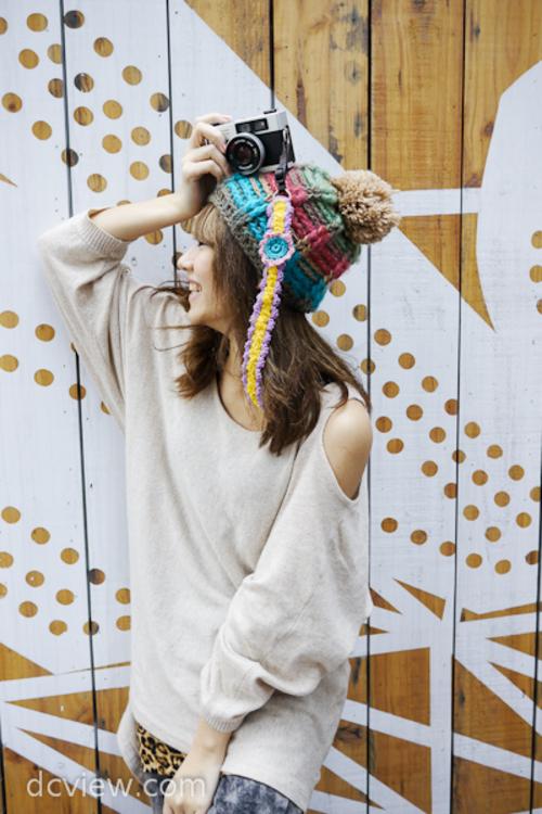 100%回头率 学日本杂志DIY个性相机肩带