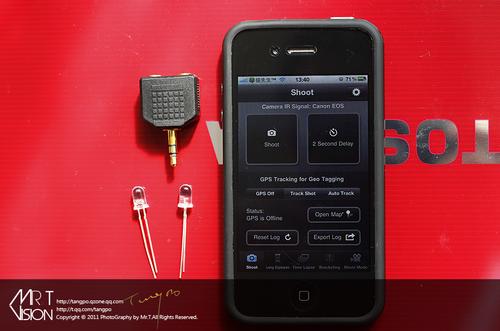 只要3元 iphone制作单反无线快门遥控器