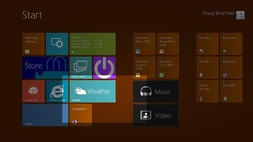 Windows 8系统更贴心 闭着眼睛也能用