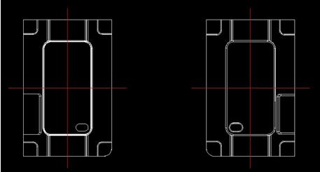 浩辰cad燕秀模具之iphone4v模具壳绘制-it168软do+cad啊是意思什么