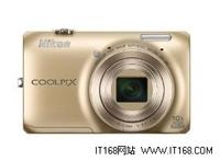 顶尖科技 尼康S6300金色亚马逊售1299元