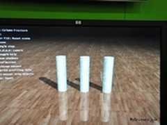 NVIDIA展示Physx新版demo-Fraction
