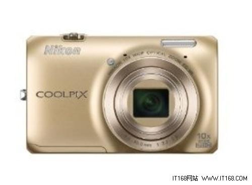 顶尖科技优雅设计 尼康S6300金色现货售