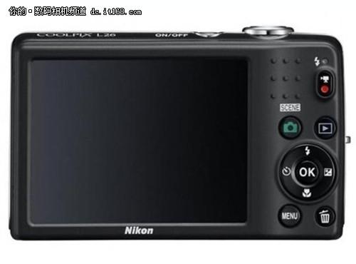 便携数码相机 尼康L26亚马逊特价749元