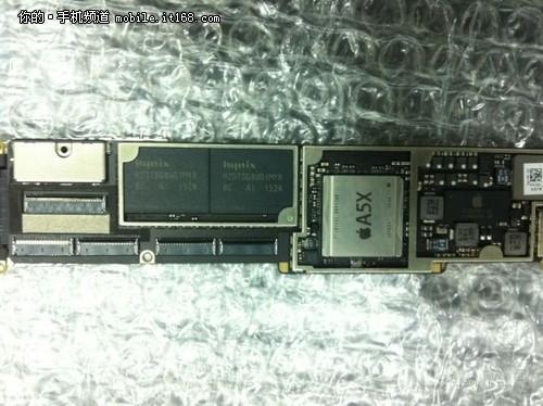 揭秘苹果全新a5x处理器 双核cpu四核gpu
