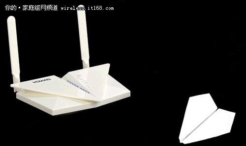 童年的纸飞机 飞鱼星VF35无线路由评测