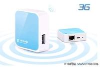 简简单单 TP-LINK迷你3G无线路由器设置