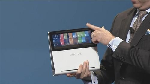 合上就是平板 Intel侧滑超极本