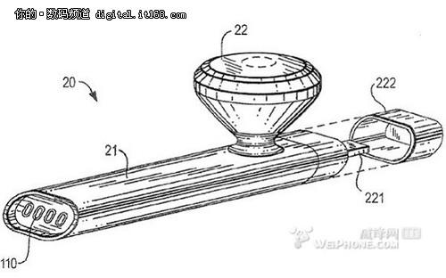 苹果新专利:内置MP3播放器的蓝牙耳机