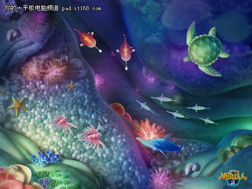 游戏周边 捕鱼达人全尺寸高清壁纸下载