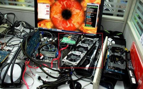 很爽很凉快 映众GTX680混合散热显卡曝
