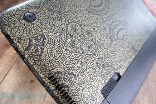 惠普推特别版dm1笔记本 独特巴西花纹