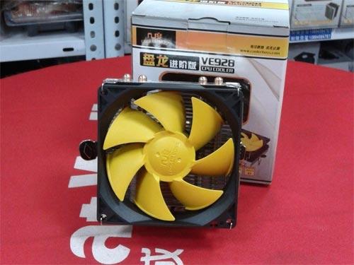 价廉物美的4热管 几度盘龙进阶版散热器