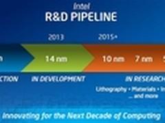 英特尔开始研发5nm工艺 最迟2020年上市