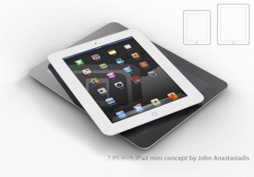 8G+视网膜屏 7寸iPad十月上市售200美元