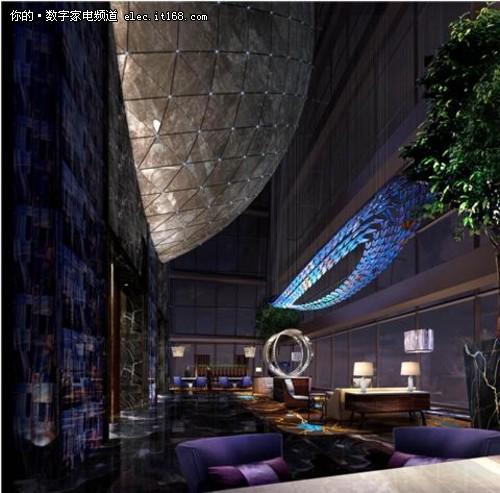索尼联袂深圳瑞吉 打造3D智能数字酒店