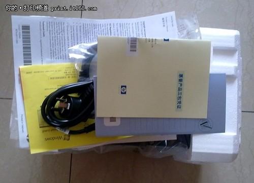惠普p1108拆箱安装经历