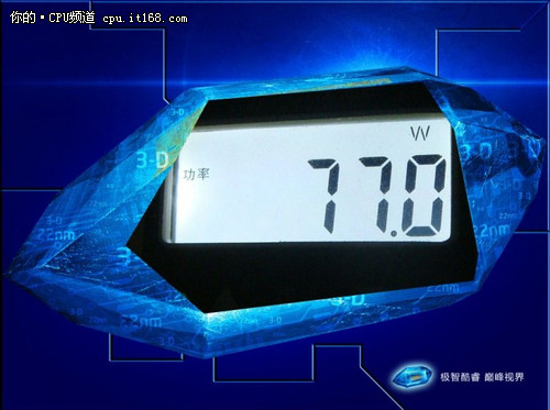 酷睿 i5-3450处理器功耗及散热测试