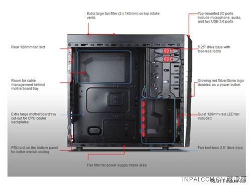 银欣推出RL01机箱
