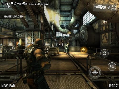 iPad3视网膜屏幕之殇 游戏特效被降级