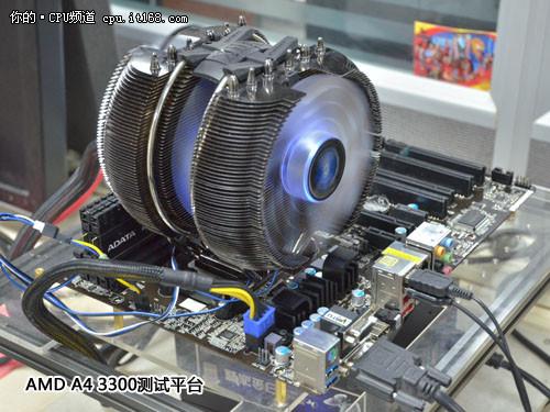 超频百分之四十 AMD A4 3300超频全体验