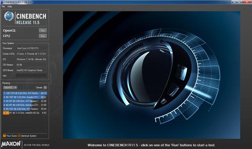 AMD A4 3300处理器核心显卡测试