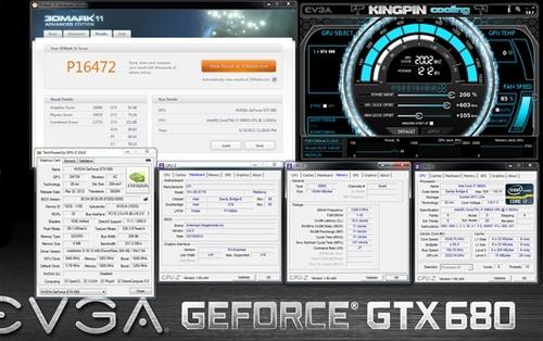 核心频率首超2GHz EVGA GTX680显卡发威
