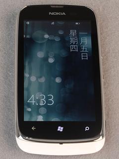 WP7界面操作 1500元价位WP7.5 诺基亚Lumia610评测
