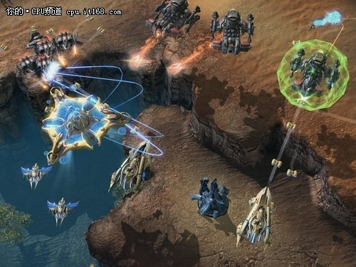 DX9游戏测试:星际争霸2与使命召唤7