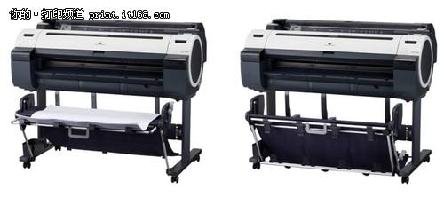 佳能推5色大幅面打印新品
