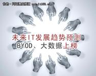 未来IT发展趋势预测:BYOD、大数据上榜
