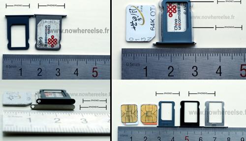 疑似iPhone5 Nano-SIM卡托槽元件曝光